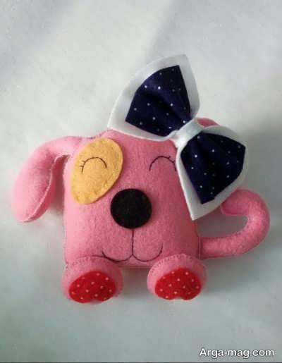 عروسکهای سگ فانتزی نمدی
