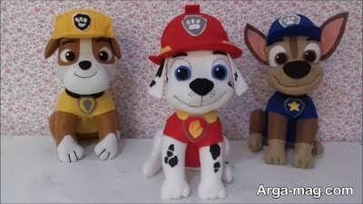 مدل عروسکهای سگ نمدی