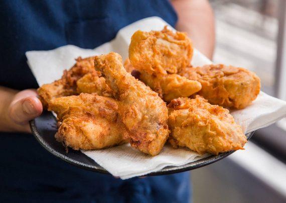 طرز تهیه مرغ سوخاری پفکی