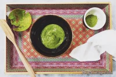 ماسک ضد پیری چای سبز