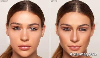 گریم بینی بزرگ و کوچکتر جلوه دادن بینی های بزرگ با آرایش