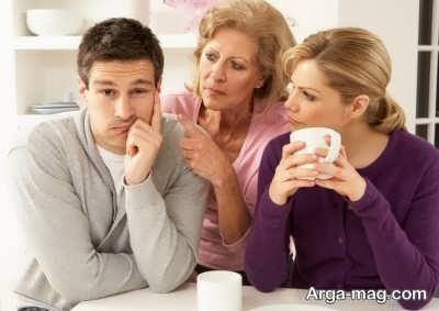ارتباط درست با خانواده ی همسر