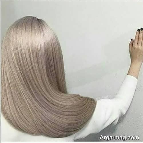 رنگ موی بلوند خاکستری