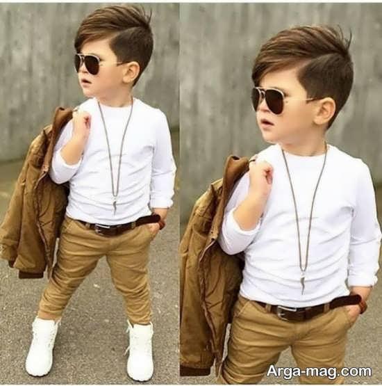 Kid Haircuts With Outfit: مدل موی پسرانه بچه گانه با استایل های فانتزی و جذاب