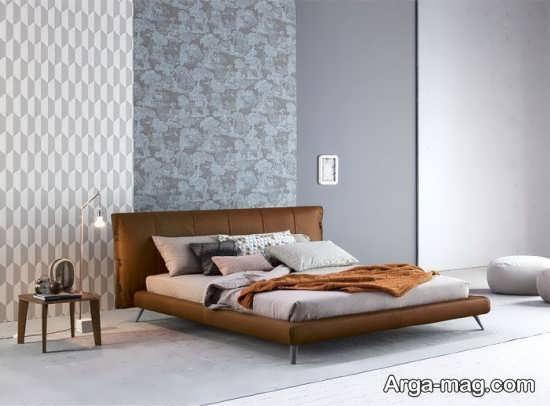 طراحی زیبا و ساده اتاق خواب