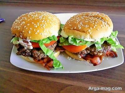 طرز تهیه رویال همبرگر