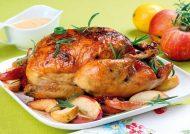 طرز تهیه مرغ شکم پر در قابلمه