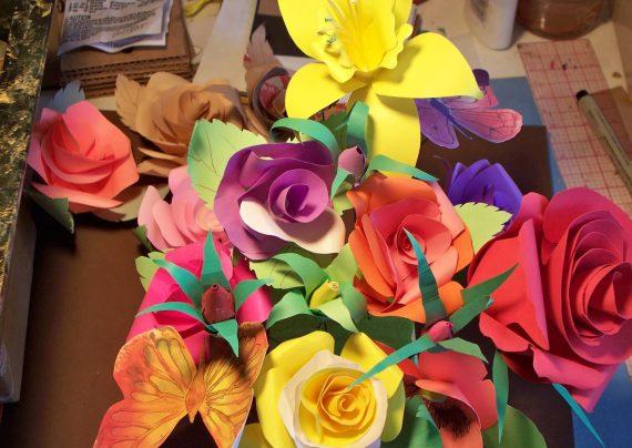 گلسازی با مقوا
