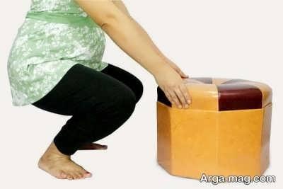 نحوه صحیح بلند کردن اجسام در بارداری