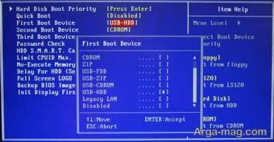 نصب ساده ویندوز 10 از روی فلش