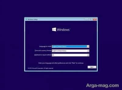 روش نصب ویندوز ۱۰ از روی فلش مموری