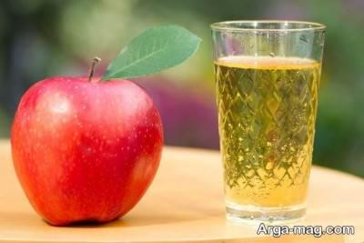 خاصیت های بی نظیر آب سیب در سلامت پوست و مو