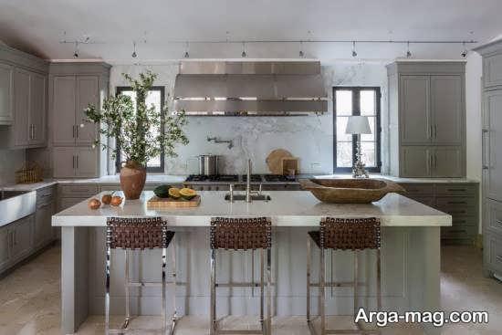 دکوراسیون آشپزخانه ۲۰۱۸ با طراحی امروزی