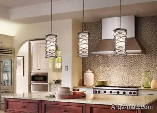 نورپردازی در آشپزخانه