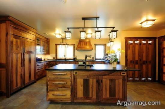 انواع رنگ ها در زیبایی آشپزخانه