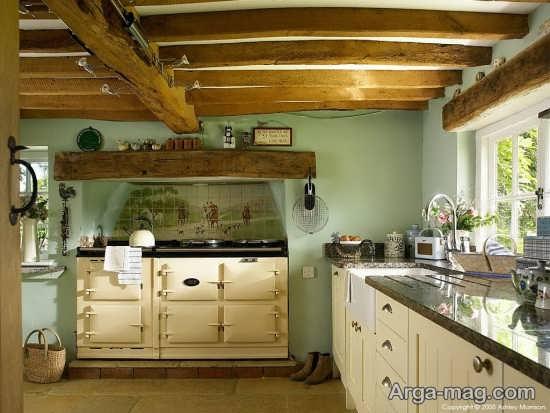 تنوع رنگ ها در آشپزخانه