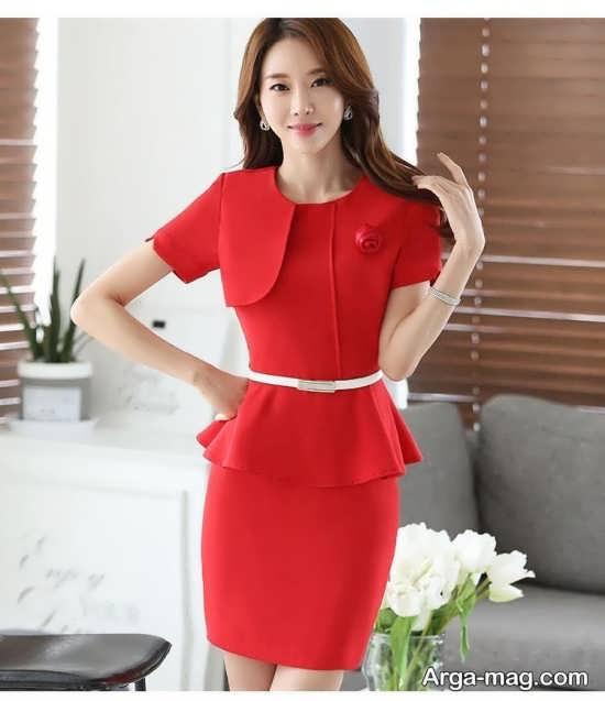 مدل کت دامن کره ای