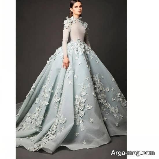 مدل لباس پرنسسی مجلسی