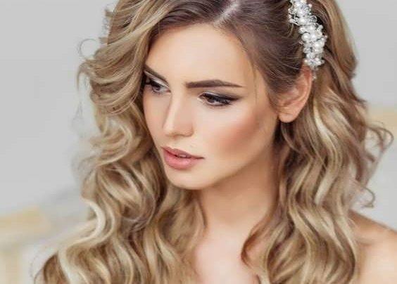 مدل موی بلند برای عروسی