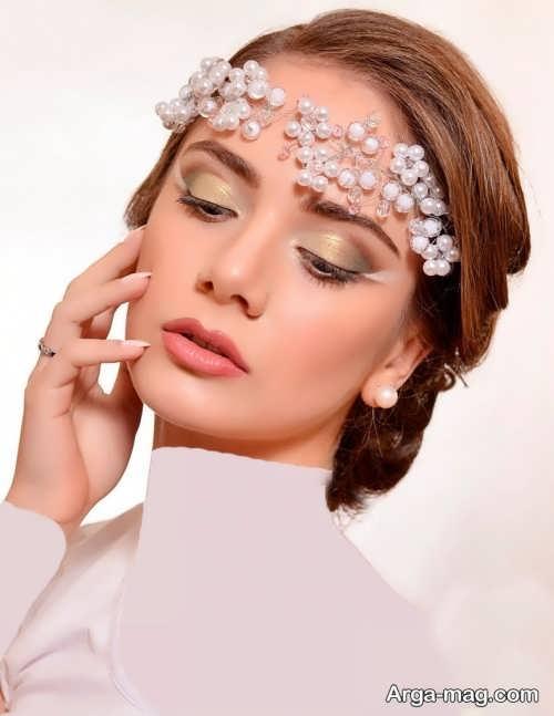 مدل میکاپ زیبا و حرفه ای عروس