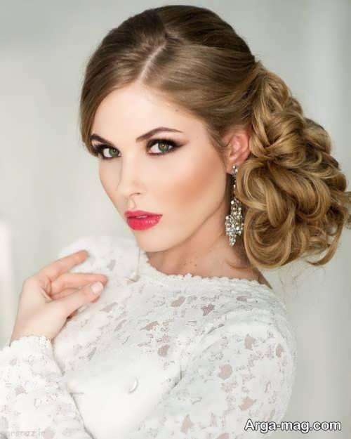 مدل میکاپ زیبا و جذاب برای عروس