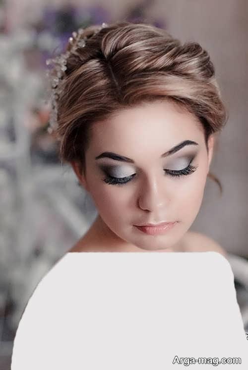 مدل آرایش صورت شیک و زیبا برای عروس
