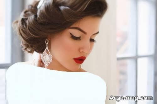 مدل آرایش صورت شیک و جذاب عروس