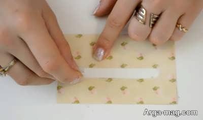 Making a greeting card 10 - به همین راحتی، کارت تبریک عاشقانه بسیار زیبا درست کنید