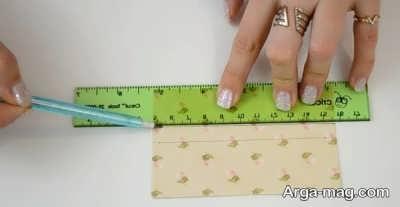 Making a greeting card 2 - به همین راحتی، کارت تبریک عاشقانه بسیار زیبا درست کنید