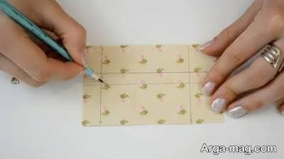 Making a greeting card 6 - به همین راحتی، کارت تبریک عاشقانه بسیار زیبا درست کنید