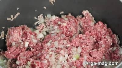 Meat pancakes 8 - آموزش پخت پنکیک گوشت لذیذ و خوشمزه با بهترین روش تهیه