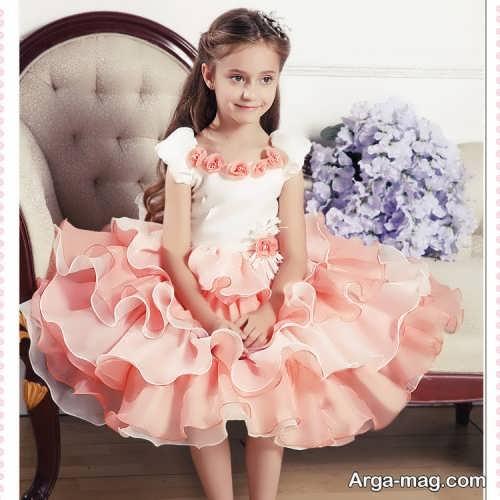 مدل لباس پرنسسی زیبا و شیک دخترانه