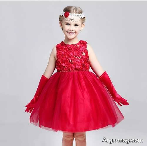 مدل لباس پرنسسی بچه گانه شیک و جذاب