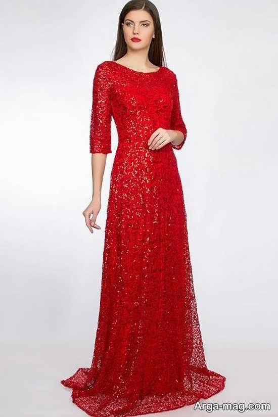 لباس دخترانه قرمز