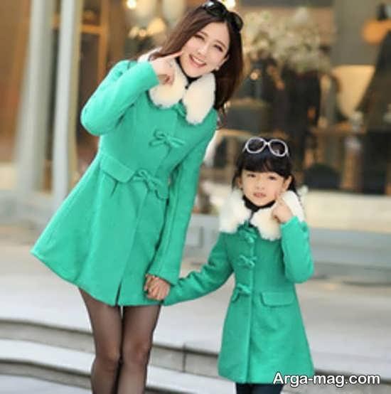مدل پالتو ست مادر و دختر