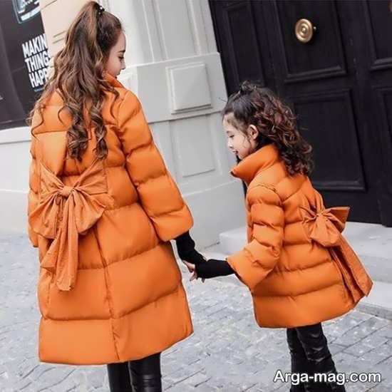 مدل کاپشن ست مادر و دختر