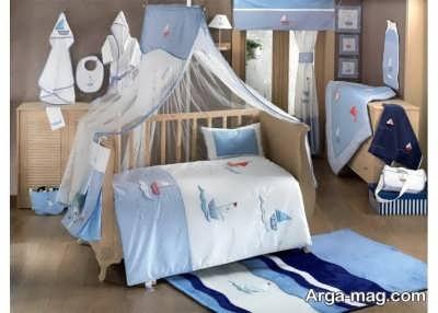 چیدمان تخت نوزاد
