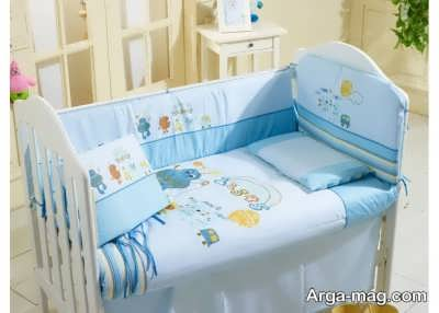 تزیینات تخت نوزاد پسرانه