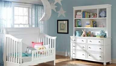 نحوه ی زیبای تزیین تخت نوزاد