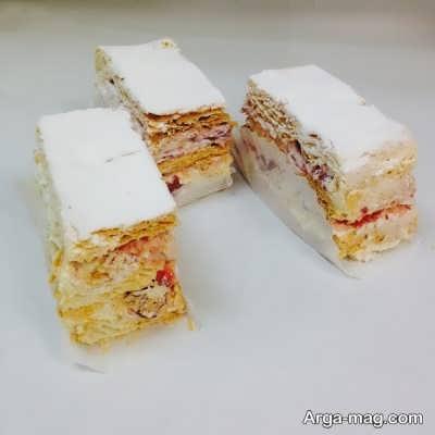 شیرینی خوشمزه و خوش طعم ناپلئونی