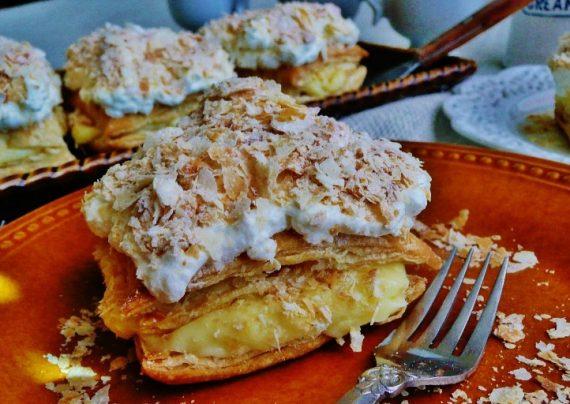 دستور پخت شیرینی ناپلئونی