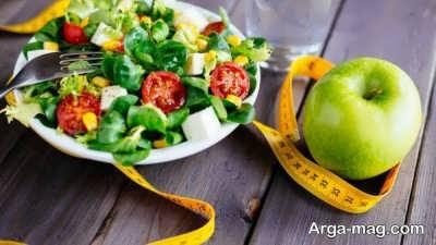رژیم کاهش وزن یک ماهه