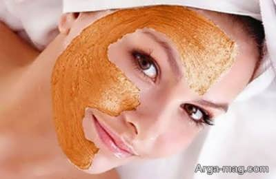 ماسک صورت پرتقال