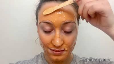 شفاف شدن پوست با ماسک پوسته ی پرتقال
