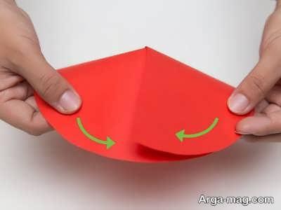 مراحل ساخت کلاه کاغذی