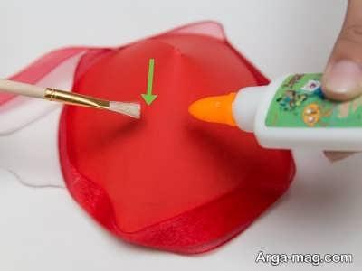 تزیین کلاه تولد کاغذی