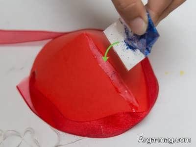 تزیین کلاه تولد با اکلیل