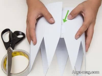 ساخت تاج تولد با کاغذ