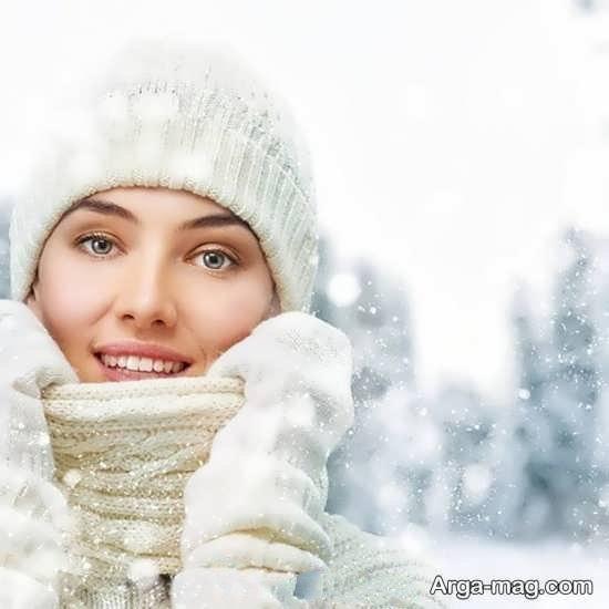 ایده جدید دخترانه در روز برفی