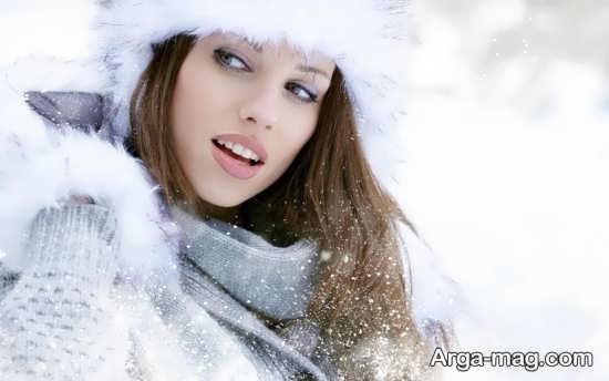 عکس دیدنی و خاص برای زمستان